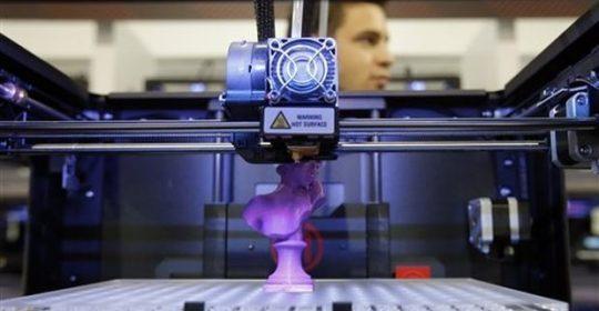 La reproducción de huesos y órganos en 3D