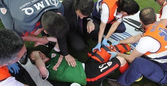 La mayoría de las lesiones de rodilla afectan al tendón rotuliano.