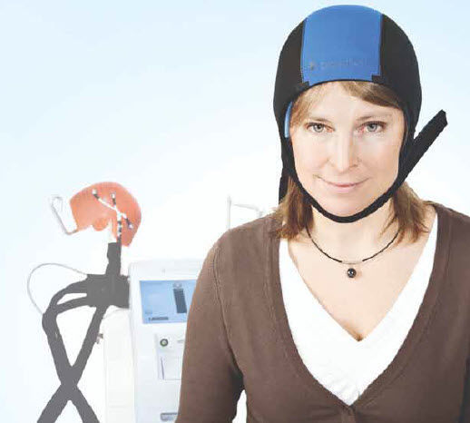 Un casco para evitar la caída del cabello durante la quimioterapia